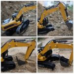 HUINA-1580-2-4G-1-14-23CH-3-in-1-Rc-Hydraulic-Excavator-Electric-Model-Excavator