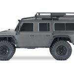 TRX-4-Defender-Silver-sideview